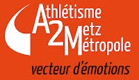Logo et slogan A2M fond Orange