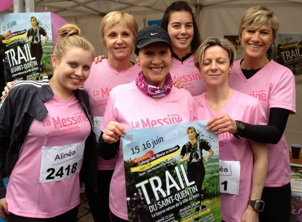 La Messine au Trail du Saint Quentin